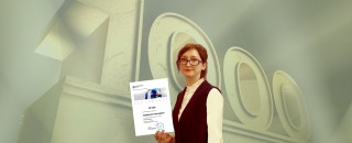 1000-й сертификат об обучении на наших практикумах!